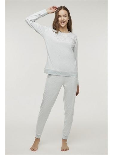 Penti Stripy Pijama Takımı Renkli